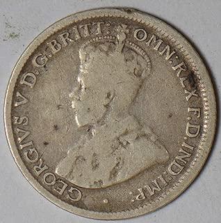 1917 3 pence