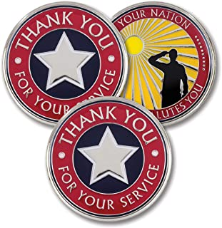 Thank You for Your Service – Military Coins – AttaCoin Veteran Gift Series (3 Pack)
