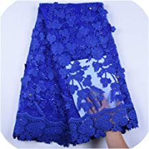 Newest Applique Milk Silk African Lace Fabric French Lace Fabric Nigerian Tulle Lace Fabric for Wedding Dress A1598,As Picture1
