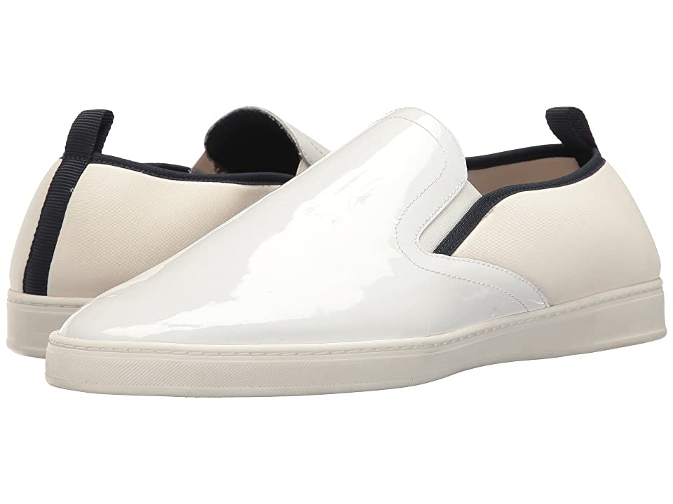 PARC City Boot Pier (White Patent Leather/White) Men