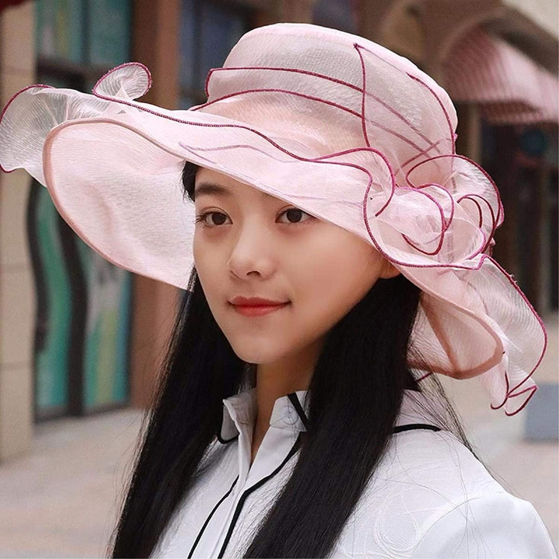 Dingkun Summer Visor female sun cap visor beach hat breathable, weight caps hats foldable snow yarn woven hat Cap