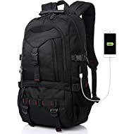 Tocode Fashion Laptop Backpack Contains Multi-Function Pockets, Durable Travel Backpack with USB...