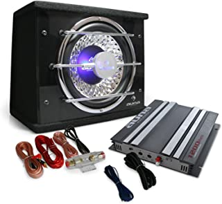 2.1Monza Set Audio Coche HiFi Amp Subwoofer Altavoz 1200W