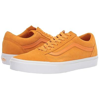Vans Old Skooltm ((Soft Suede) Zinnia/True White) Skate Shoes