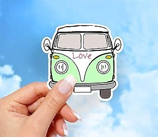 Love Bus Sticker, Vinyl Stickers, Funny Stickers, Laptop Sticker