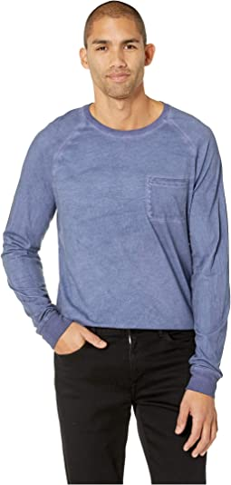 Rainwash Pocket Raglan Crew