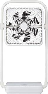 ドウシシャ 扇風機 フォールディングファン 19cm コードレス ピエリア ホワイト FBV-193B WH