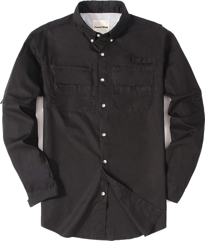 Men's Plaid Flannel Shirts Cotton Regular Fit Long Sleeve Casual Button Down Shirt