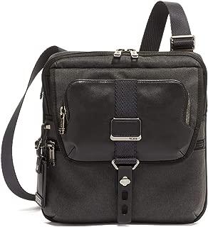 Alpha Bravo Arnold Zip Flap Crossbody Bag - Messenger Bag for Men and Women - Graphite