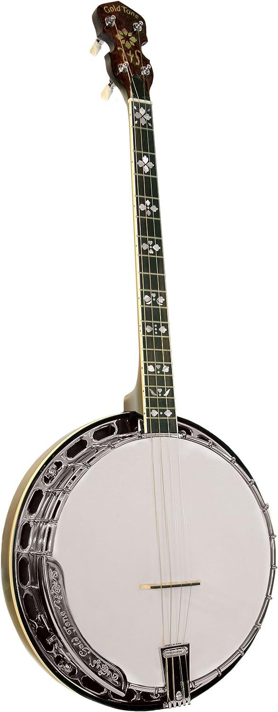 Colorado Springs Mall Gold Tone TS-250 Tenor Vintage Brown Special Banjo Super popular specialty store