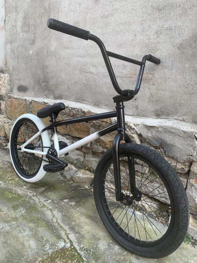 SWORDlimit Bicicleta BMX Freestyle de 20 Pulgadas, Cuadro de Acero ...