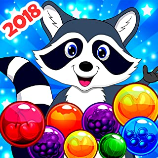 Bubble Shooter - Raccoon Bubble Shoot, Bubble Pop Games for Kindle Fire (Bubble Games for adults, kids and toddlers)