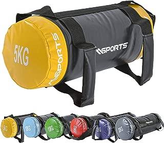 Msports Power Bag Premium 5–30kg Fitness Bag–Saco de Arena para Functional Fitness Saco de Peso