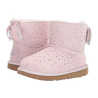 UGG Kids Stargirl Classic Mini II Bow (Little Kid/Big Kid) (Baby Pink) Girls Shoes
