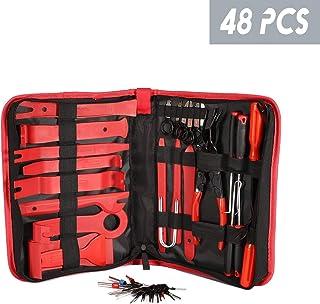 Kit de herramientas de extracción de embellecedores de coche, 48 piezas, kit de herramientas para puerta de coche, panel d...