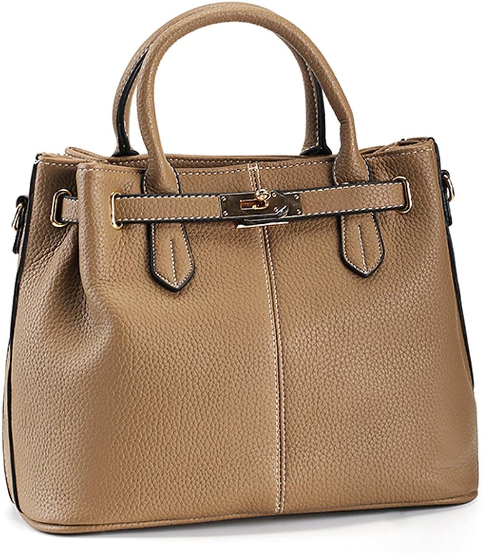Joy&magiC Women Purses and Handbag Bags TopHandle Drawstring Satchel Tote Bags Khaki