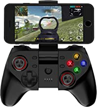 Mobile Game Controller for PUBG & Fornite Wireless Key Mapping Phone Gamepad Joystick Perfect for Android iOS iPhone Samsung Galaxy Tablet PC Support Online Action Shooting Racing Sport No Simulator