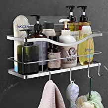 [XXXL LARGE] 16 Inch Shower Caddy, Adhesive Wall Mounted Shower Basket Shelf for Shower Room, SUS304 Stainless Steel Hangi...
