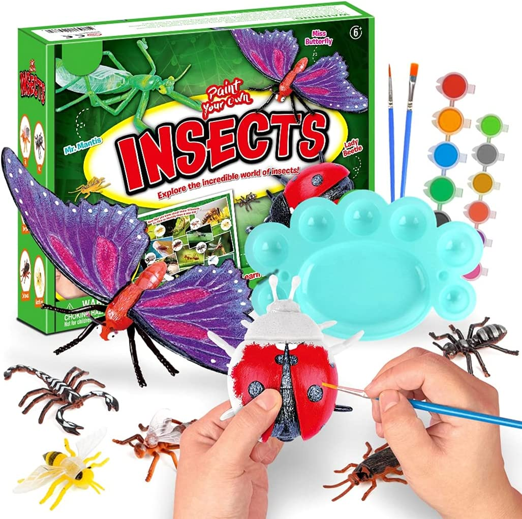 COSYOO Kids Boys Minneapolis Mall Girls Toddlers Factory outlet Insect Set Decorati Art Painting