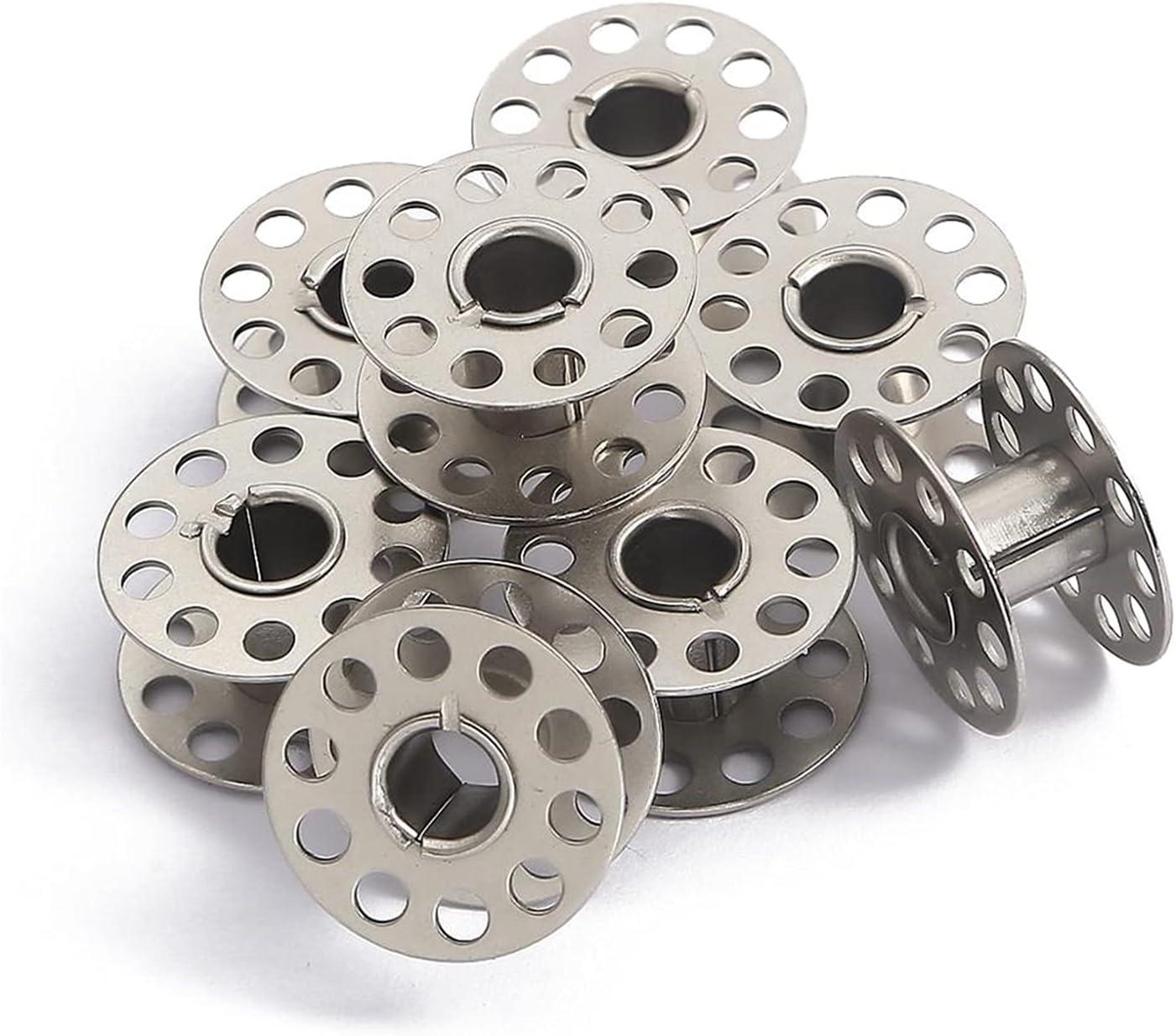 GJHL Sewing Machine Spool Max 56% OFF 10Pcs Bobbins Max 51% OFF Metal Craft
