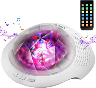 Aurora Night Light , Projector Nightlight Sound Machine with 7 Light Modes , Bluetooth..