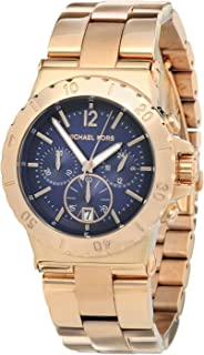 MK5410 Women's Chronograph Dylan Rose Gold-Tone Stainless Steel Bracelet Watch