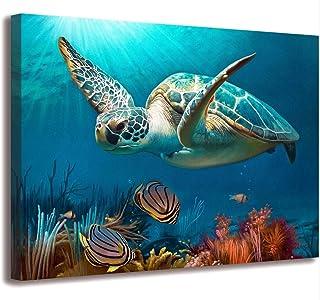 Bathroom Decor Beach Decor Sea Turtle Bathroom Art Beach Bathroom Decor Turtle Decor..