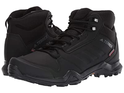 adidas Outdoor Terrex AX3 Beta Mid CW (Black/Black/Grey Five) Men