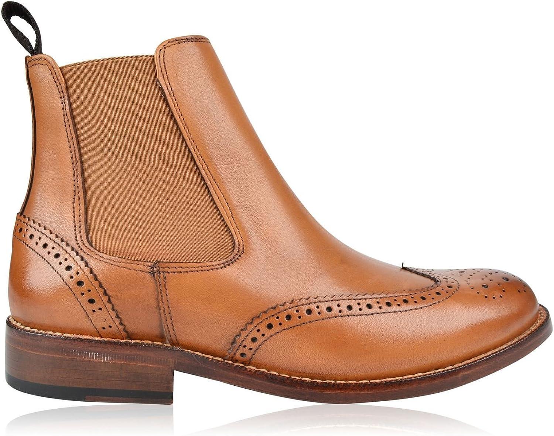 Full Circle Cobham Cobham Herren Stiefeletten Smart Freizeit Ankle Stiefel Leder Schuhe  Große Auswahl