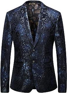HZCX FASHION Men's Slim Fit Two Button Sports Coats and Dress Blazer Jackets