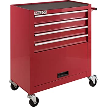 Arebos Chariot A Outils 9 Tiroirs Amazon Fr Bienvenue