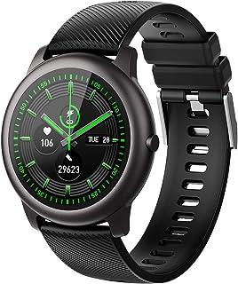 ELEGIANT Reloj Inteligente, Smartwatch para Hombres y Mujeres, Pulsera de Actividad IP68, Monitor de Frecuencia Cardíaca, ...