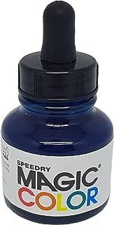 Magic Color MC510 28ml Liquid Acrylic Ink, Aqua Blue