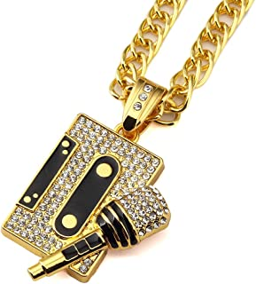 cream hip hop jewelry