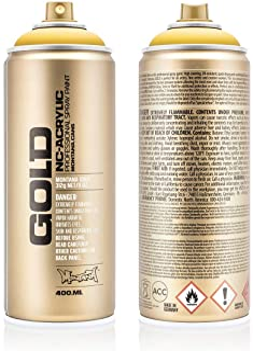 Montana Cans GOLD Spray Paint, 400ml, Yellow Submarine