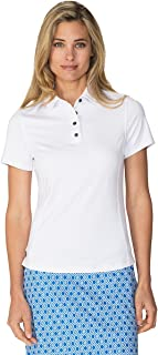 Chase54 Womens Leisure Short Sleeve Polo Shirt