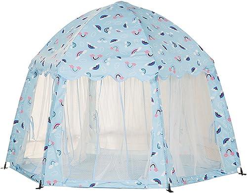 Kinder Zelte Indoor Spielzimmer Größes Spiel Haus Spiel Zelt Spielzeug Haus,Blau