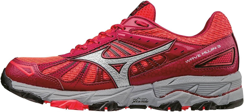 Mizuno Damen Wave Mujin 3 (W) Laufschuhe rot  | Lebendige Form