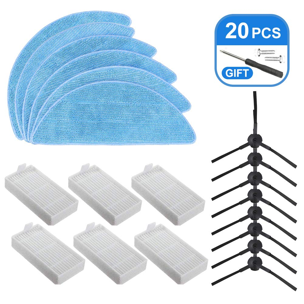 Brush Filter Mop For ILIFE V5s Pro Vacuum Cleaner Replacement Part Replace Part