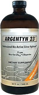 Argentyn 23 PPM Colloidal Silver Hydrosol (32 oz Value Bottle)