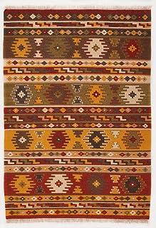 Tappeto 70 X 125 In Lana E Cotone Scendiletto Antiques Asian Antiques