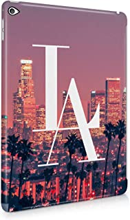 Los Angeles LA City of Sins Sunset Summer Paradise City California Plastic Tablet Snap On Back Case Cover Shell for iPad Air 2