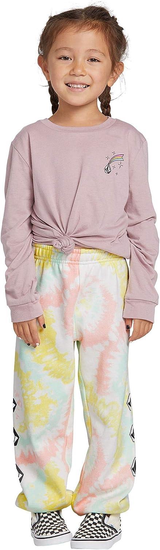 Volcom Women's Little Girl Vol Stone Elastic Waist Sweat Pant