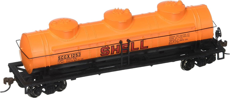 Bachmann Industries Shell  1253 40' ThreeDome Tank Car (HO Scale Train)