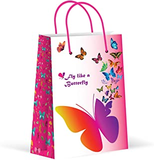 Premium Butterfly Party Bags, Party Favor Bags, New, Treat Bags, Gift Bags, Goody Bags, Party Favors, Party Supplies, Decorations, 12 Pack
