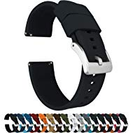 Barton Elite Silicone Watch Bands - Quick Release - Choose Color - 18mm, 19mm, 20mm, 21mm, 22mm,...