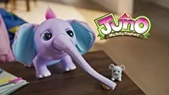 Juno My Baby Elephant with Interactive Moving Trunk and 150 Sounds and Moves