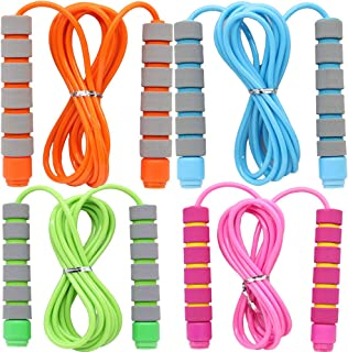 Kids Plastic Pink Blue Skipping Rope Children Exercise Jumping Game Fitness Gym