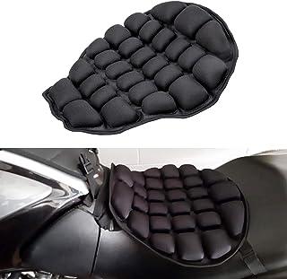 comprar comparacion CICMOD Cojín de Asiento Aire Inflable, Almohadilla de Asiento de Moto de Alivio Presión Universial Negro