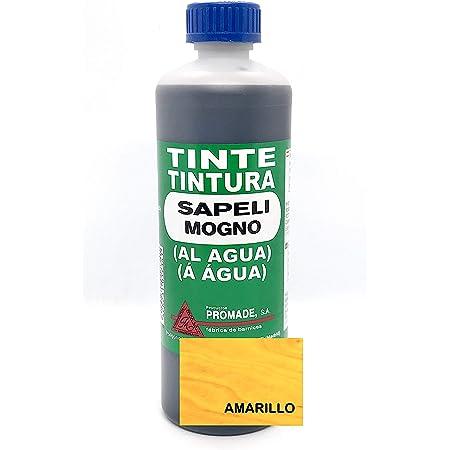 Promade - Tinte al agua para madera 500 ml (Amarillo)